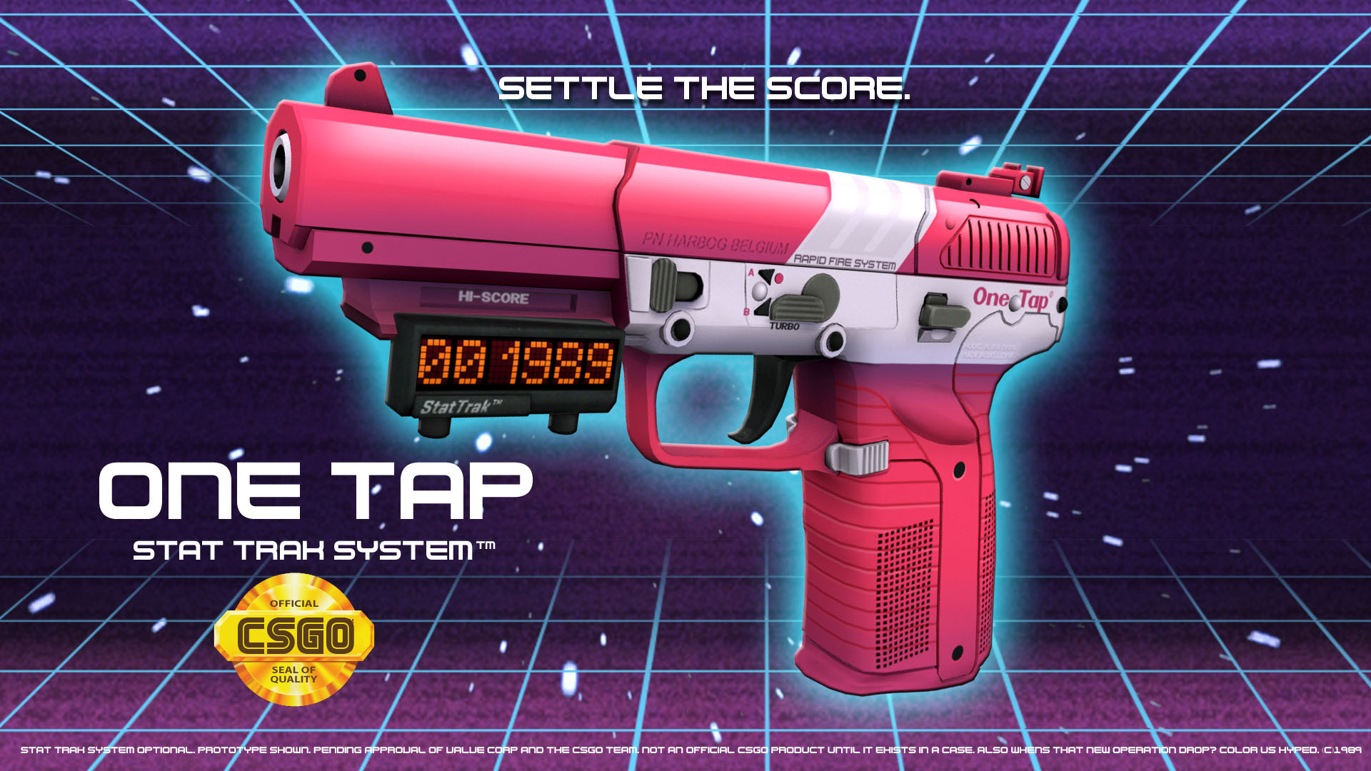 one tap five seven