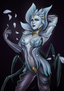 death_blossom_elise_fanart__lol__by_the_essential_squid-d8av5eh