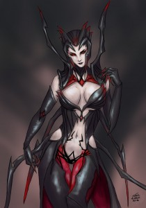 elise__the_spider_queen__by_anime407-d8ze6oo