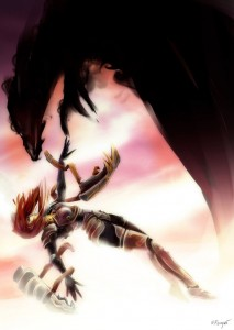 league_of_legends___shyvana__the_fall_by_nfouque-d4yhtkw