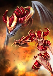 shyvana_by_claw333ayane-d5ylvh2