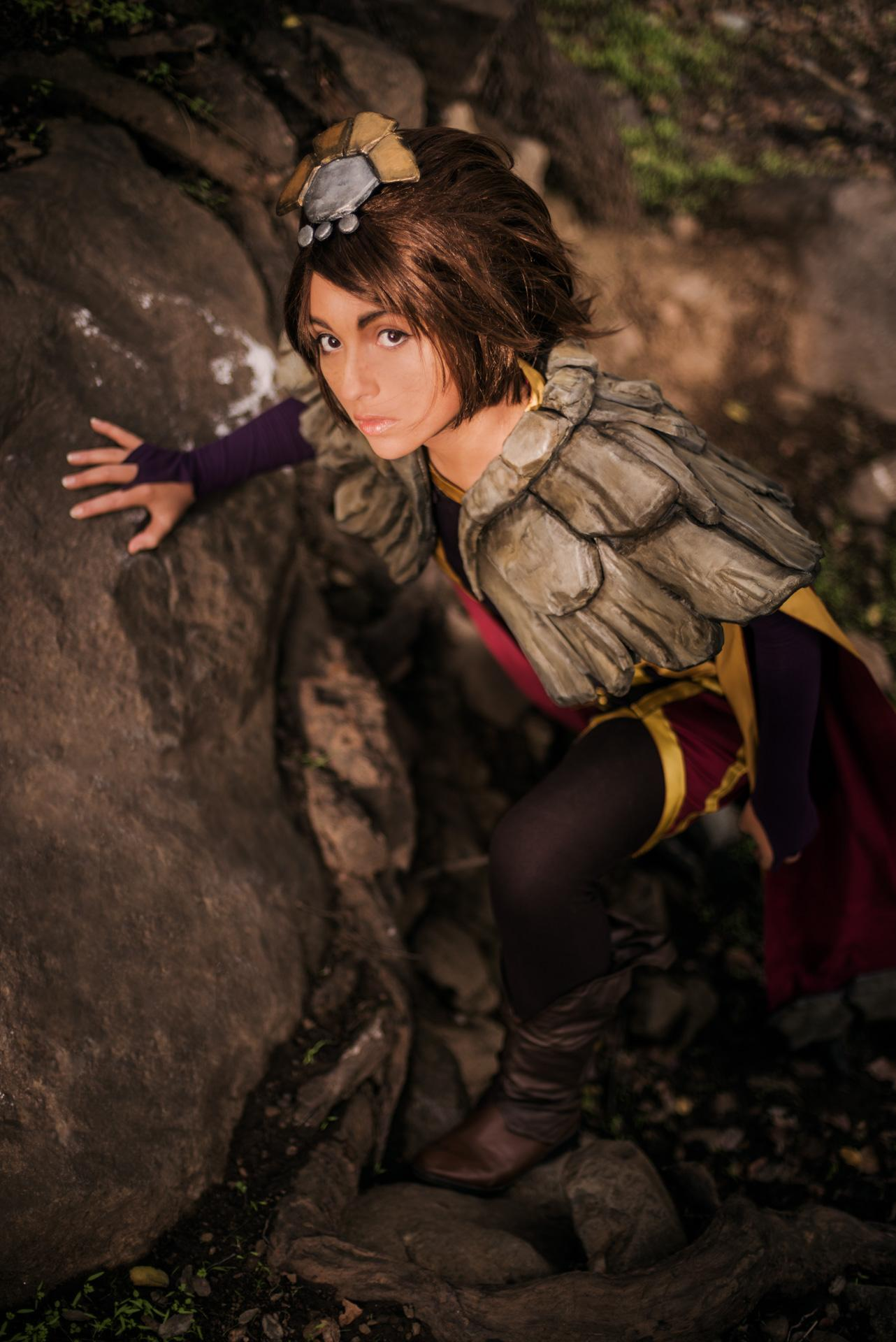Galerry Taliyah cosplay League of Legends by 泥鳅Linki
