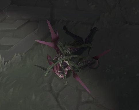 zyra death animation