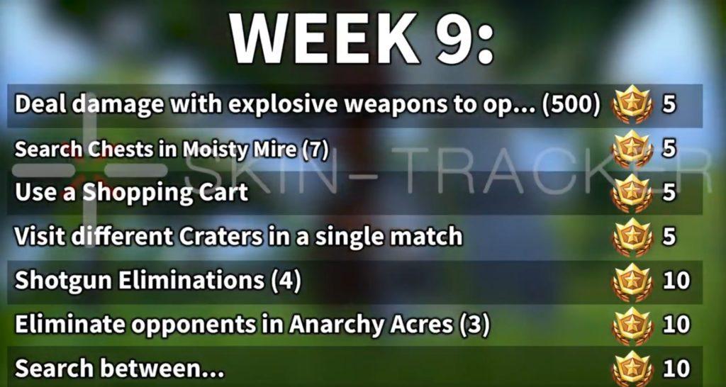 Wyzwania tydzień 9