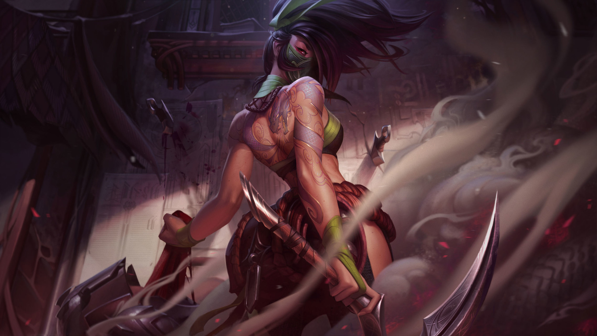 League of Legends champion Akali is finally getting a rework