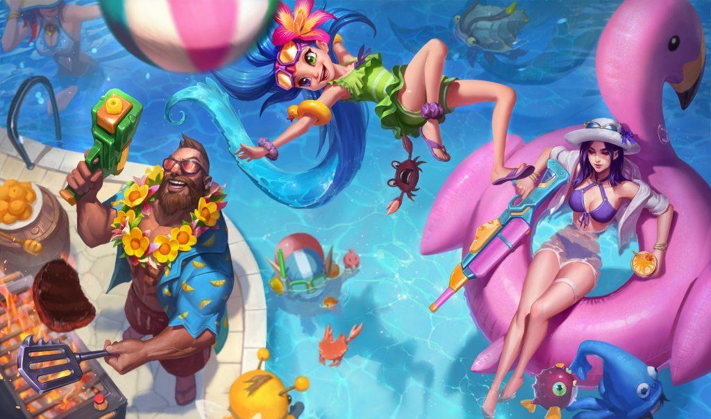 pool party gangplank pool party gp pool party zoe pool party caitlyn pool party ziggs pool party lulu