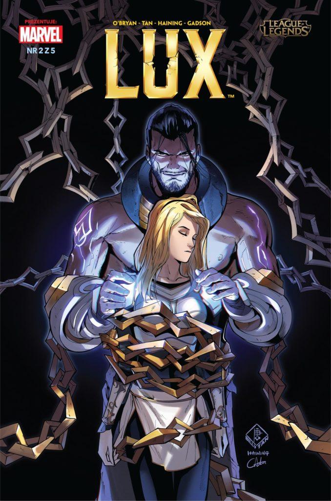 Lux komiks część 2 okładka