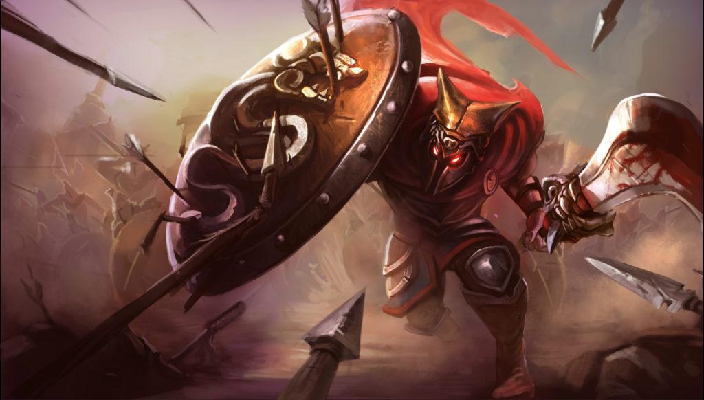 glaive warrior pantheon