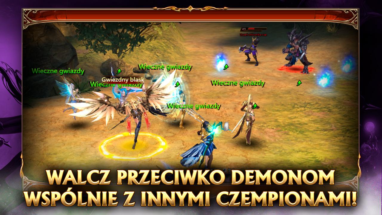 league of angels promo 5 - walcz przeciwko demonom wspólnie z innymi czempionami