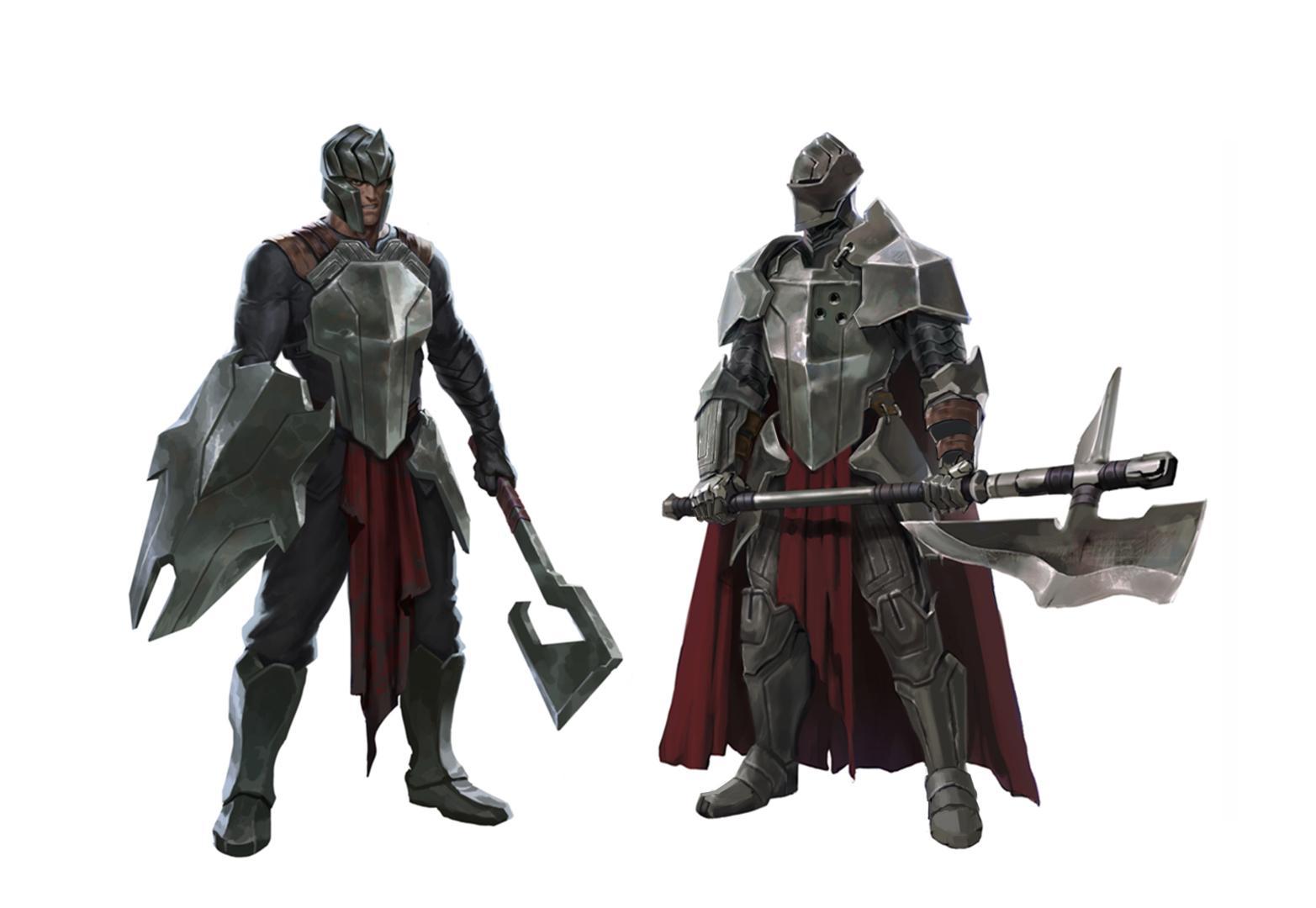 legion tryfariański armia noxusu league of legends