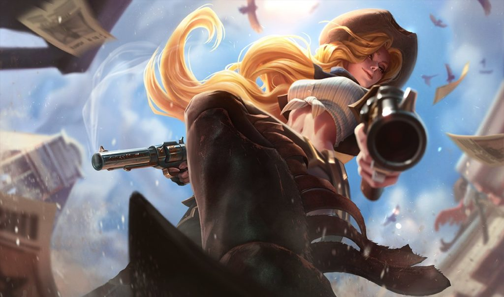 cow girl miss fortune