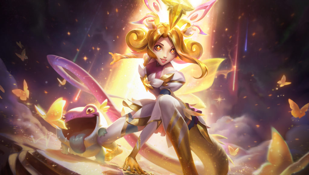 neeko star guardian neeko prestige edition league of legends wallpaper full size splash art star guardian sg