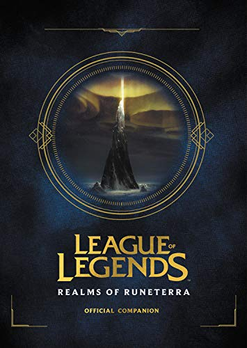 league of legends realms of runeterra cover book