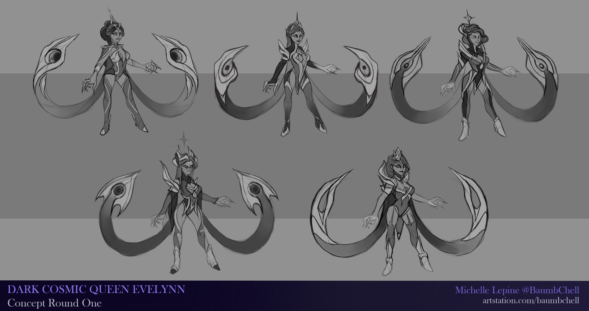 Dark Cosmic Queen Evelynn - godna rywalka dla Dark Cosmic