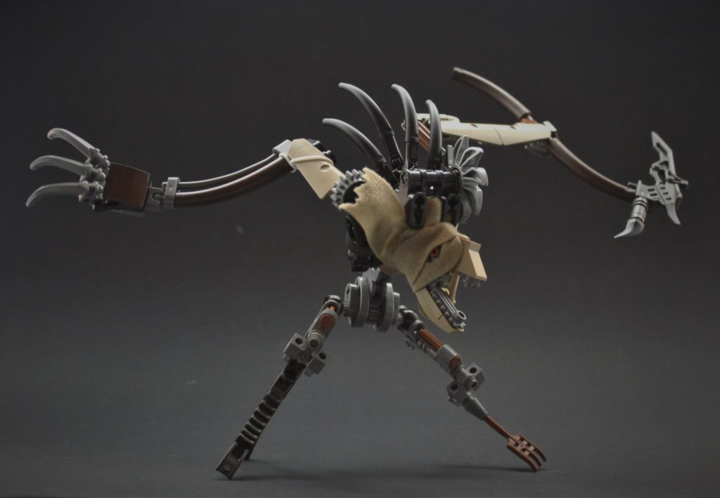 League of Legends / Fiddlesticks MOC Lego
