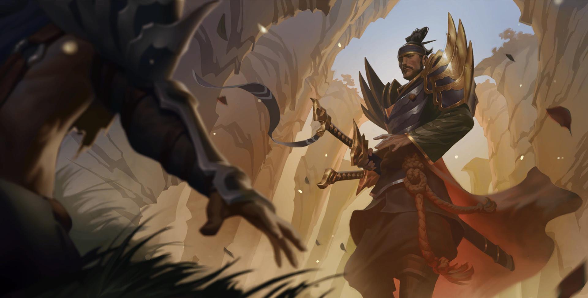Yone / splash art / Legends of Runeterra