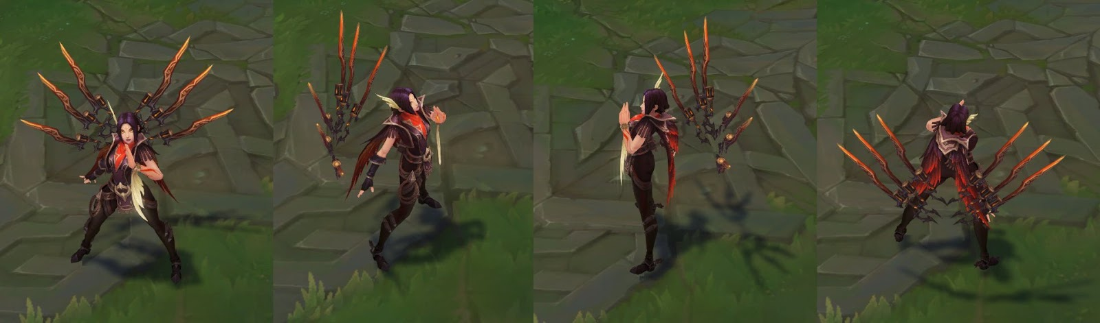 High Noon Irelia / ingame turnaround
