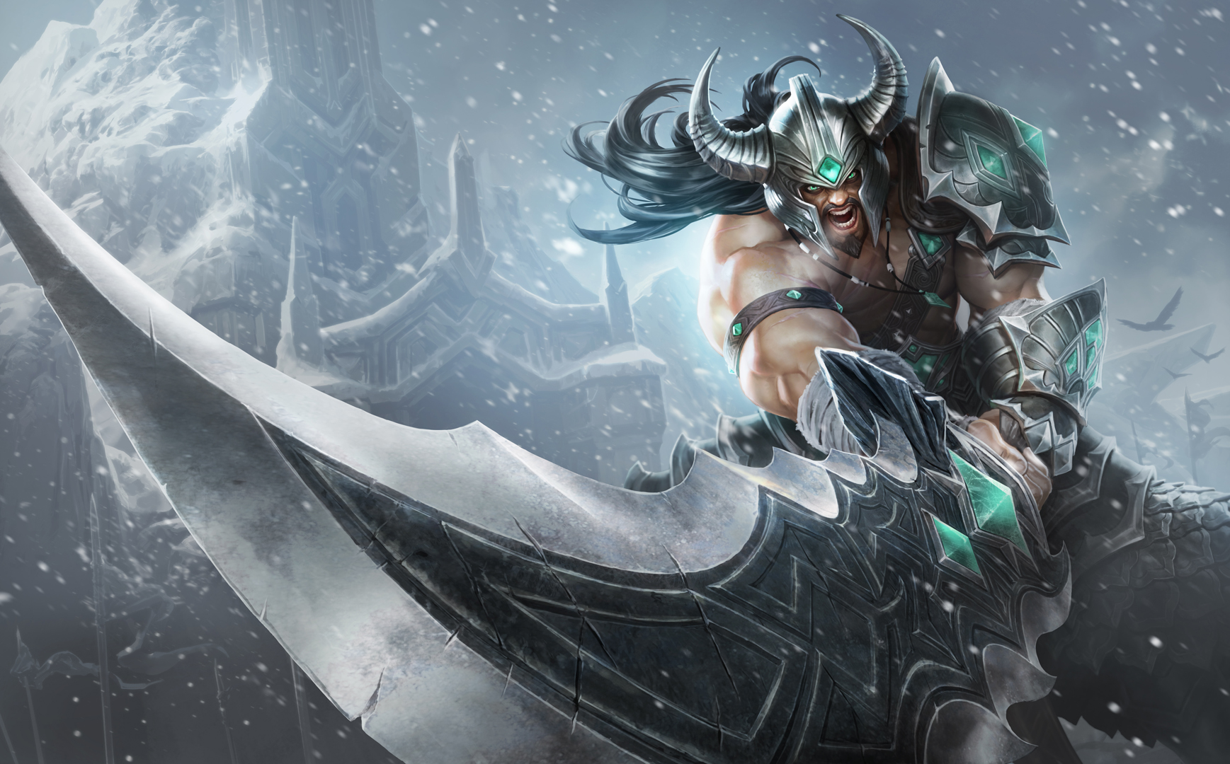 Tryndamere - splash art (HQ)