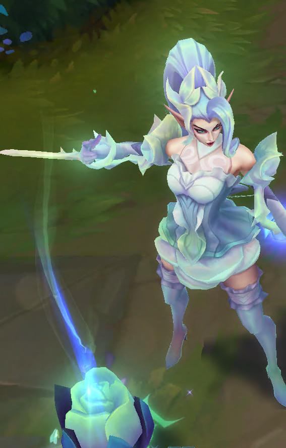 Crystal Rose Zyra leak lol skin